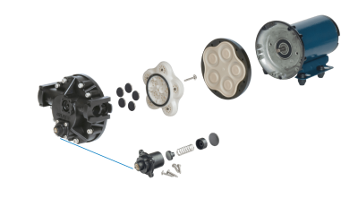 Bypass Diaphragm - Exploded View